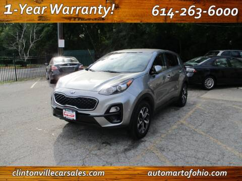 2020 Kia Sportage for sale at Clintonville Car Sales - AutoMart of Ohio in Columbus OH