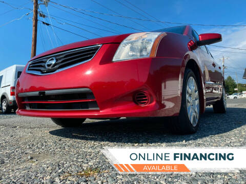 2012 Nissan Sentra for sale at Prime One Inc in Walkertown NC