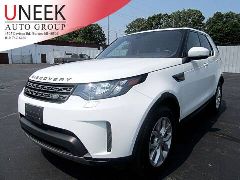 2018 Land Rover Discovery for sale at Uneek Auto Group LLC in Burton MI