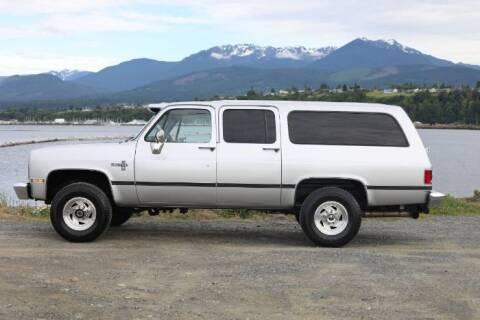 1987 Chevrolet Suburban for sale at Classic Car Deals in Cadillac MI