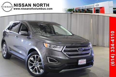 2016 Ford Edge for sale at Auto Center of Columbus in Columbus OH