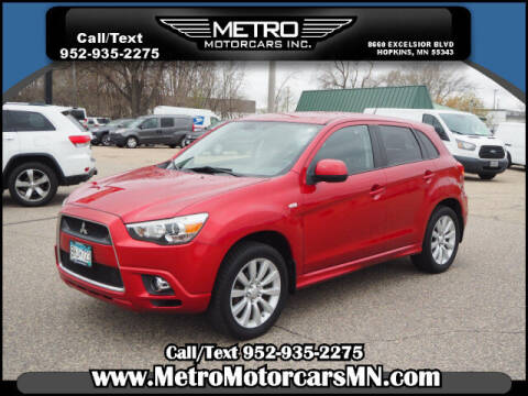 2011 Mitsubishi Outlander Sport for sale at Metro Motorcars Inc in Hopkins MN