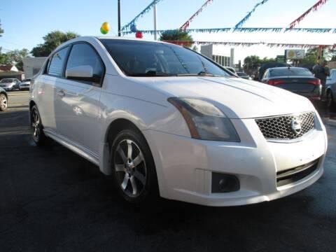 2012 Nissan Sentra for sale at EZ Finance Auto in Calumet City IL