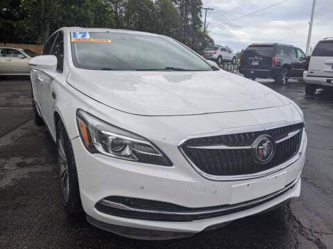 2017 Buick LaCrosse for sale at GREAT DEALS ON WHEELS in Michigan City IN