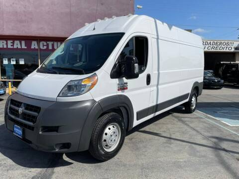 2018 RAM ProMaster Cargo for sale at Sanmiguel Motors in South Gate CA