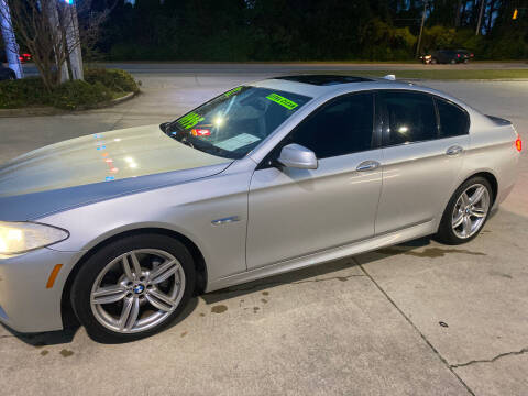 2012 BMW 5 Series for sale at TOP OF THE LINE AUTO SALES in Fayetteville NC