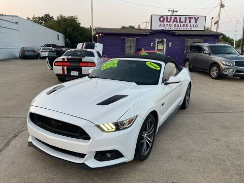 2016 Ford Mustang for sale at Quality Auto Sales LLC in Garland TX