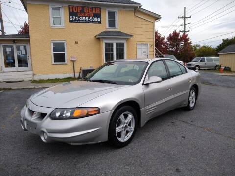 2004 Pontiac Bonneville for sale at Top Gear Motors in Winchester VA