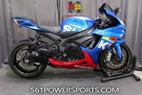 2016 Suzuki GSX-R600 for sale at Powersports of Palm Beach in Hollywood FL