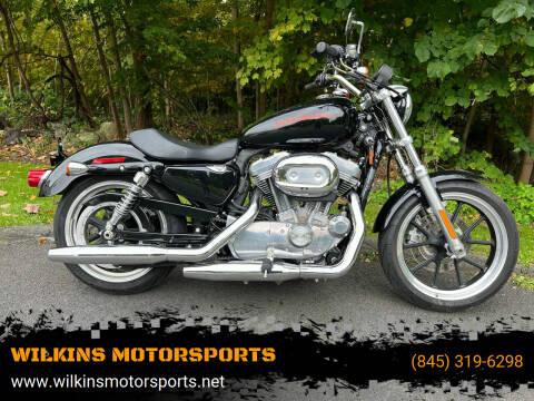 2013 Harley-Davidson Sportster883 for sale at WILKINS MOTORSPORTS in Brewster NY