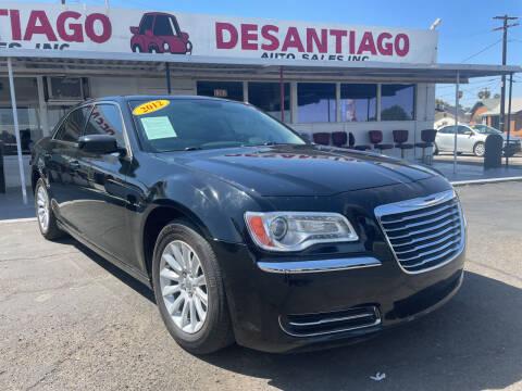 2012 Chrysler 300 for sale at DESANTIAGO AUTO SALES in Yuma AZ