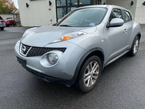 2012 Nissan JUKE for sale at MAGIC AUTO SALES in Little Ferry NJ