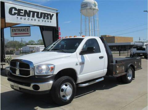 2007 Dodge Ram Chassis 3500 for sale at CENTURY TRUCKS & VANS in Grand Prairie TX