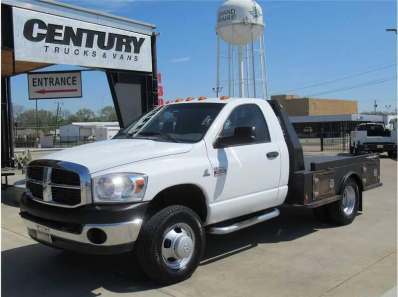2007 Dodge Ram Chassis 3500 for sale at CENTURY TRUCKS & VANS in Grand Prairie TX