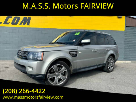2013 Land Rover Range Rover Sport for sale at M.A.S.S. Motors - Fairview in Boise ID