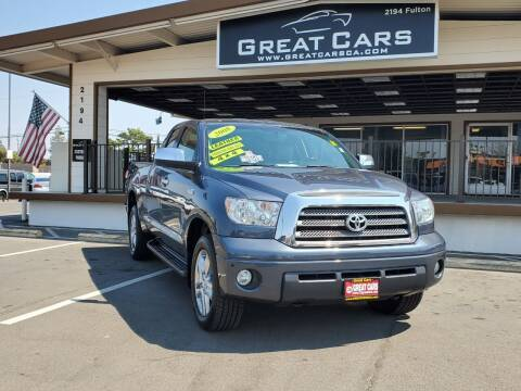 2008 Toyota Tundra for sale at Great Cars in Sacramento CA