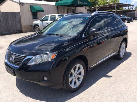 2010 Lexus RX 350 for sale at OASIS PARK & SELL in Spring TX