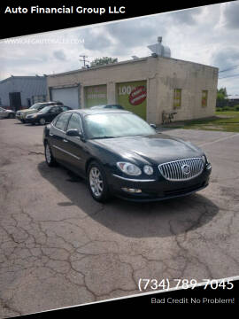 2008 Buick LaCrosse for sale at Auto Financial Group LLC in Flat Rock MI