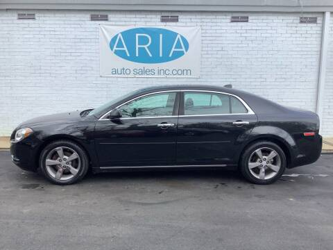 2012 Chevrolet Malibu for sale at ARIA  AUTO  SALES in Raleigh NC