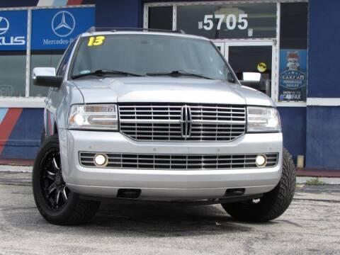 2013 Lincoln Navigator for sale at VIP AUTO ENTERPRISE INC. in Orlando FL