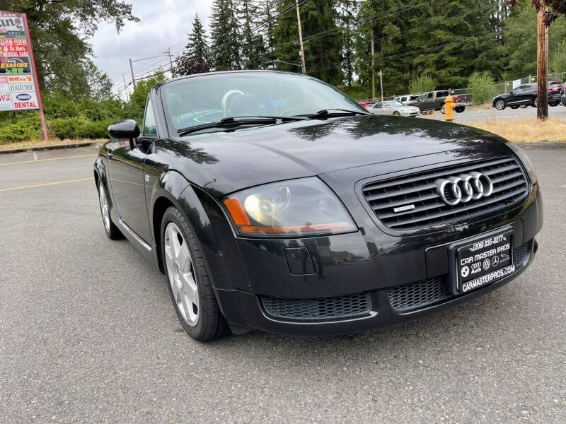 2002 Audi TT for sale at CAR MASTER PROS AUTO SALES in Lynnwood WA