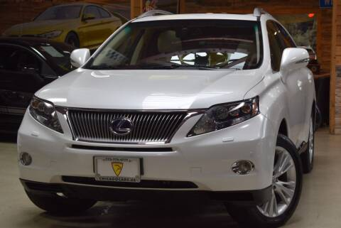 2011 Lexus RX 450h for sale at Chicago Cars US in Summit IL