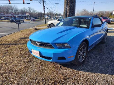 2010 Ford Mustang for sale at Ray Moore Auto Sales in Graham NC