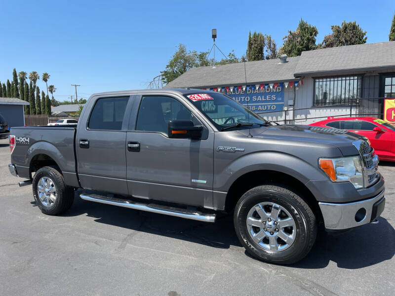 2013 Ford F-150 for sale at Blue Diamond Auto Sales in Ceres CA