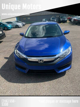 2017 Honda Civic for sale at Unique Motors in Wichita KS