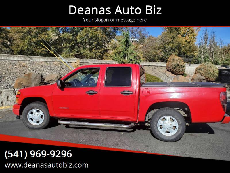 2005 Chevrolet Colorado for sale at Deanas Auto Biz in Pendleton OR