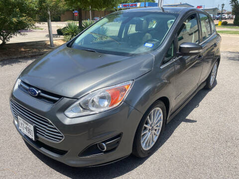 2015 Ford C-MAX Hybrid for sale at Ted's Auto Corporation in Richardson TX