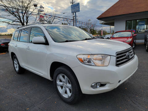 2010 Toyota Highlander for sale at Cedar Auto Group LLC in Akron OH