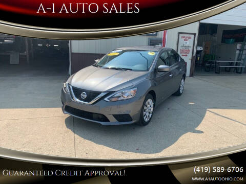 2018 Nissan Sentra for sale at A-1 AUTO SALES in Mansfield OH