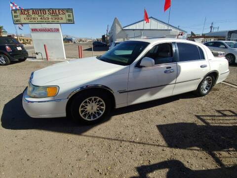 2002 Lincoln Town Car for sale at ACE AUTO SALES in Lake Havasu City AZ