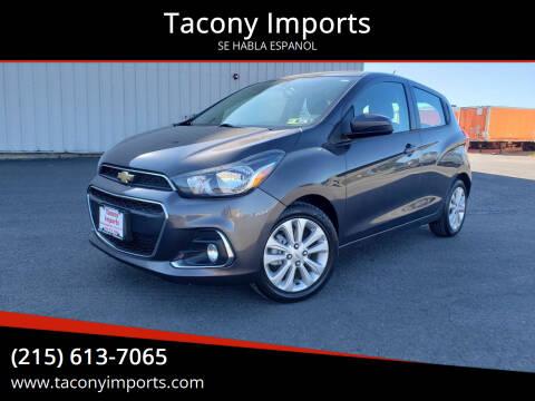 2016 Chevrolet Spark for sale at Tacony Imports in Philadelphia PA