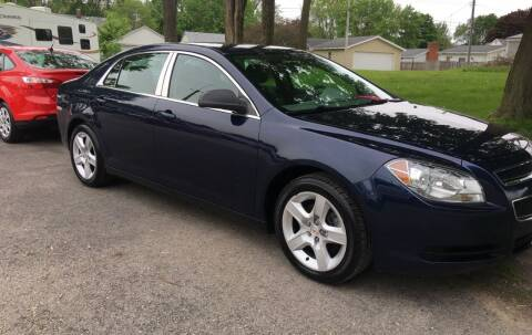 2011 Chevrolet Malibu for sale at Antique Motors in Plymouth IN