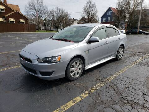 2014 Mitsubishi Lancer for sale at USA AUTO WHOLESALE LLC in Cleveland OH