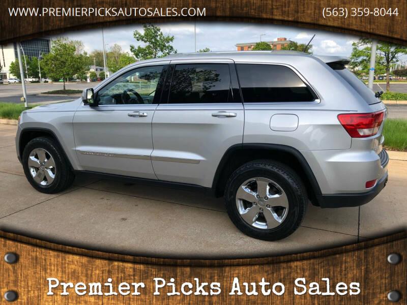 2011 Jeep Grand Cherokee for sale at Premier Picks Auto Sales in Bettendorf IA