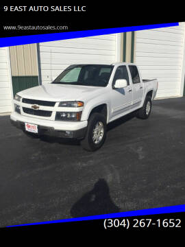 2012 Chevrolet Colorado for sale at 9 EAST AUTO SALES LLC in Martinsburg WV