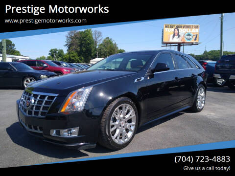 2014 Cadillac CTS for sale at Prestige Motorworks in Concord NC