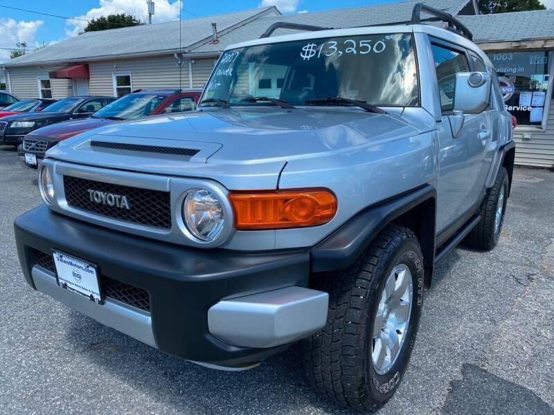 2007 Toyota FJ Cruiser for sale at Volare Motors in Cranston RI