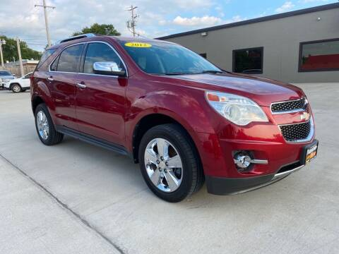 2012 Chevrolet Equinox for sale at Tigerland Motors in Sedalia MO