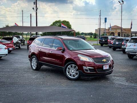 2015 Chevrolet Traverse for sale at Jerrys Auto Sales in San Benito TX