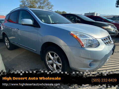 2011 Nissan Rogue for sale at High Desert Auto Wholesale in Albuquerque NM