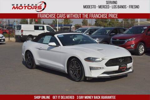 2019 Ford Mustang for sale at Choice Motors in Merced CA