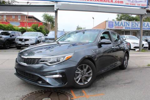 2020 Kia Optima for sale at MIKEY AUTO INC in Hollis NY