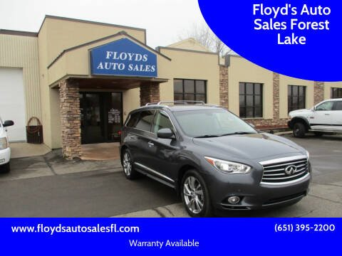 2013 Infiniti JX35 for sale at Floyd's Auto Sales Forest Lake in Forest Lake MN