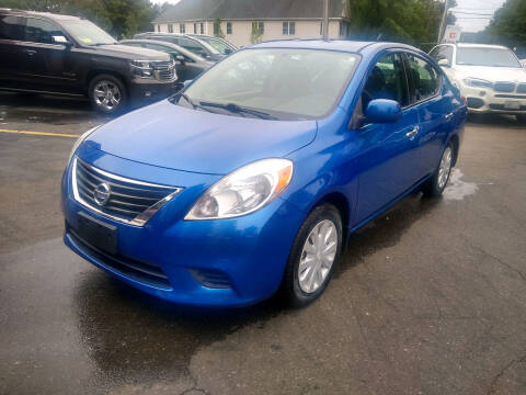 2014 Nissan Versa for sale at Washington Street Auto Sales in Canton MA