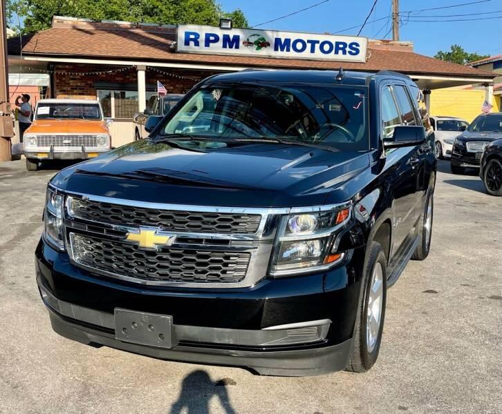 2017 Chevrolet Tahoe for sale at RPM Motors in Nashville TN