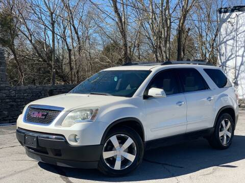 2011 GMC Acadia for sale at Motorkings Murfreesboro in Murfreesboro TN